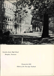 Page 7, 1959 Edition, Snowden Junior High School - Yearbook (Memphis, TN) online yearbook collection