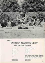 Page 13, 1960 Edition, Snowden Junior High School - Yearbook (Memphis, TN) online yearbook collection