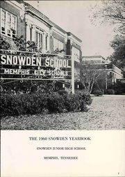 Page 7, 1960 Edition, Snowden Junior High School - Yearbook (Memphis, TN) online yearbook collection