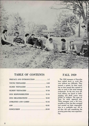 Page 8, 1960 Edition, Snowden Junior High School - Yearbook (Memphis, TN) online yearbook collection