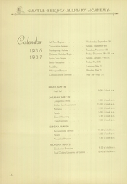 Page 10, 1936 Edition, Castle Heights Military Academy - Yearbook (Lebanon, TN) online yearbook collection