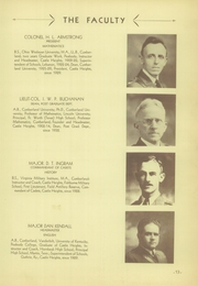 Page 17, 1936 Edition, Castle Heights Military Academy - Yearbook (Lebanon, TN) online yearbook collection