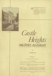 Page 5, 1936 Edition, Castle Heights Military Academy - Yearbook (Lebanon, TN) online yearbook collection