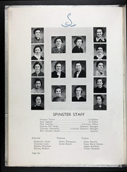 Page 14, 1937 Edition, Martin Methodist College - Spinster Yearbook (Pulaski, TN) online yearbook collection