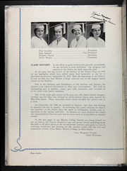 Page 16, 1937 Edition, Martin Methodist College - Spinster Yearbook (Pulaski, TN) online yearbook collection