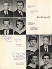 Martin Methodist College - Spinster Yearbook (Pulaski, TN) online yearbook collection, 1960 Edition, Page 76