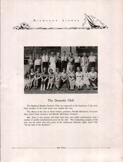 Page 17, 1935 Edition, Highland Heigts Junior High School - Lights Yearbook (Nashville, TN) online yearbook collection