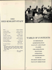 Page 10, 1963 Edition, Morristown College - Red Knight Yearbook (Morristown, TN) online yearbook collection