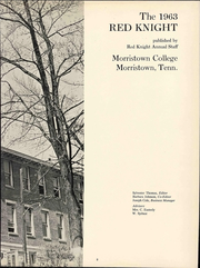 Page 8, 1963 Edition, Morristown College - Red Knight Yearbook (Morristown, TN) online yearbook collection
