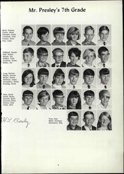 Page 9, 1969 Edition, Elmore Park Middle School - Golden Eagle Yearbook (Bartlett, TN) online yearbook collection