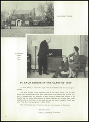 Page 12, 1959 Edition, Baxter Seminary - Highlander Yearbook (Baxter, TN) online yearbook collection