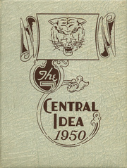 1950 Edition, Central High School - Central Idea Yearbook (Savannah, TN)