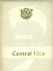 1954 Edition, Central High School - Central Idea Yearbook (Savannah, TN)