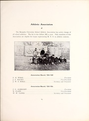Page 89, 1906 Edition, Memphis University School - Owl Yearbook (Memphis, TN) online yearbook collection