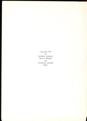Page 4, 1930 Edition, Memphis University School - Owl Yearbook (Memphis, TN) online yearbook collection