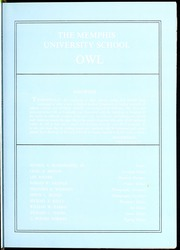 Page 7, 1963 Edition, Memphis University School - Owl Yearbook (Memphis, TN) online yearbook collection