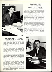 Page 15, 1967 Edition, Memphis University School - Owl Yearbook (Memphis, TN) online yearbook collection