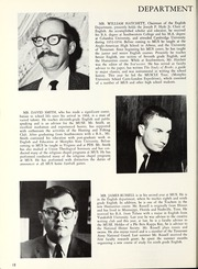 Page 16, 1967 Edition, Memphis University School - Owl Yearbook (Memphis, TN) online yearbook collection