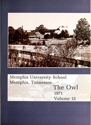Page 5, 1971 Edition, Memphis University School - Owl Yearbook (Memphis, TN) online yearbook collection
