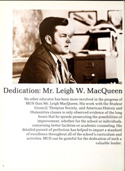 Page 6, 1971 Edition, Memphis University School - Owl Yearbook (Memphis, TN) online yearbook collection