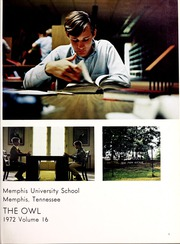 Page 5, 1972 Edition, Memphis University School - Owl Yearbook (Memphis, TN) online yearbook collection