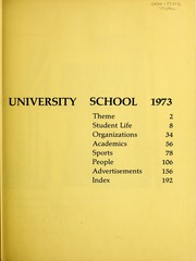 Page 3, 1973 Edition, Memphis University School - Owl Yearbook (Memphis, TN) online yearbook collection