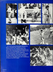 Page 10, 1982 Edition, Memphis University School - Owl Yearbook (Memphis, TN) online yearbook collection