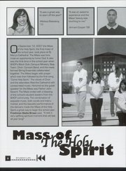 Page 12, 2008 Edition, Sacred Heart Cathedral Preparatory - Shamrock Yearbook (San Francisco, CA) online yearbook collection