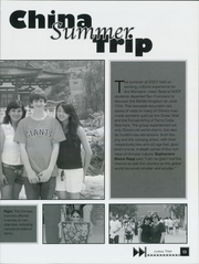 Page 17, 2008 Edition, Sacred Heart Cathedral Preparatory - Shamrock Yearbook (San Francisco, CA) online yearbook collection