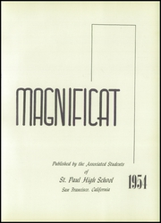 Page 7, 1954 Edition, St Paul High School - Magnificat Yearbook (San Francisco, CA) online yearbook collection