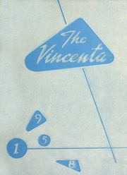 1958 Edition, St Vincent High School - Vincenta Yearbook (San Francisco, CA)