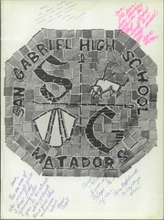Page 5, 1959 Edition, San Gabriel High School - El Camino Real Yearbook (San Gabriel, CA) online yearbook collection