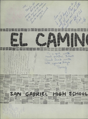 Page 6, 1959 Edition, San Gabriel High School - El Camino Real Yearbook (San Gabriel, CA) online yearbook collection