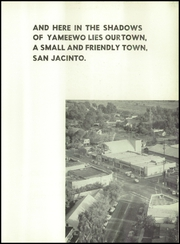 Page 7, 1953 Edition, San Jacinto High School - Yameewo Yearbook (San Jacinto, CA) online yearbook collection