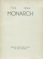 Page 5, 1944 Edition, Abraham Lincoln High School - Monarch Yearbook (San Jose, CA) online yearbook collection