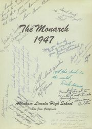 Page 5, 1947 Edition, Abraham Lincoln High School - Monarch Yearbook (San Jose, CA) online yearbook collection