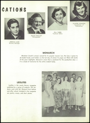 Page 17, 1954 Edition, Abraham Lincoln High School - Monarch Yearbook (San Jose, CA) online yearbook collection