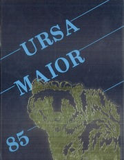 Page 1, 1985 Edition, Branham High School - Ursa Maior Yearbook (San Jose, CA) online yearbook collection