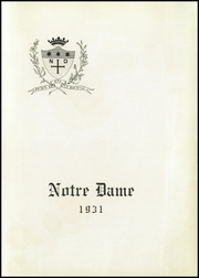 Page 7, 1931 Edition, Notre Dame High School - Saroute Yearbook (San Jose, CA) online yearbook collection