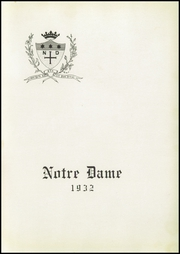 Page 5, 1932 Edition, Notre Dame High School - Saroute Yearbook (San Jose, CA) online yearbook collection
