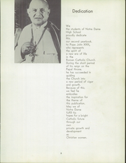 Page 7, 1959 Edition, Notre Dame High School - Saroute Yearbook (San Jose, CA) online yearbook collection