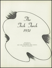 Page 5, 1951 Edition, San Jose Technical High School - Tech Torch Yearbook (San Jose, CA) online yearbook collection