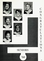 Page 45, 1960 Edition, San Lorenzo High School - Confederate Yearbook (San Lorenzo, CA) online yearbook collection