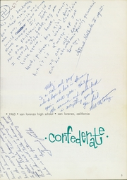 Page 7, 1963 Edition, San Lorenzo High School - Confederate Yearbook (San Lorenzo, CA) online yearbook collection
