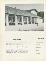 Page 6, 1955 Edition, Mission High School - El Camino Yearbook (San Luis Obispo, CA) online yearbook collection