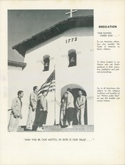 Page 7, 1955 Edition, Mission High School - El Camino Yearbook (San Luis Obispo, CA) online yearbook collection