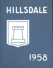 1958 Edition, Hillsdale High School - Shield Yearbook (San Mateo, CA)