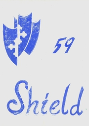 1959 Edition, Hillsdale High School - Shield Yearbook (San Mateo, CA)