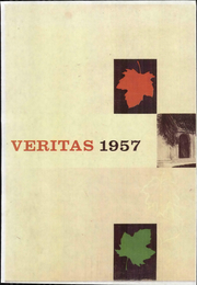 Page 1, 1957 Edition, Dominican Convent High School - Veritas Yearbook (San Rafael, CA) online yearbook collection