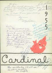 Page 5, 1955 Edition, Santa Cruz High School - Cardinal Yearbook (Santa Cruz, CA) online yearbook collection